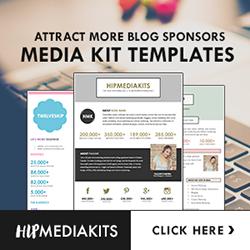 Shop Media Kit Templates