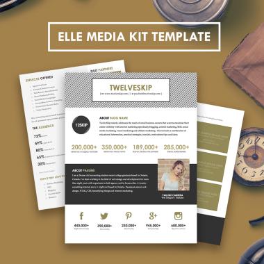 Elle Media Kit Template