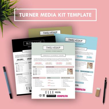 Turner Media Kit Template